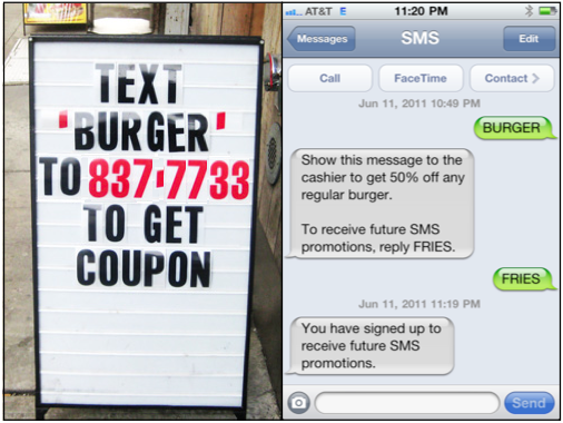 text marketing for small business